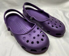 Crocs Classic Purple Viola Clog Shoes Size: Womens 10 Missing Top Strap