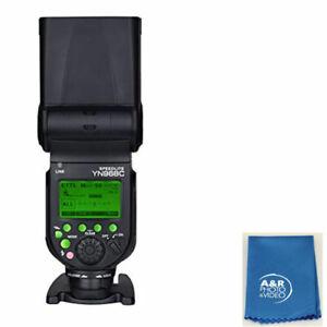 YONGNUO YN968C GN60 Hi Speed Sync TTL Manual Flash fr YN622C & YN560 DSLR Camera