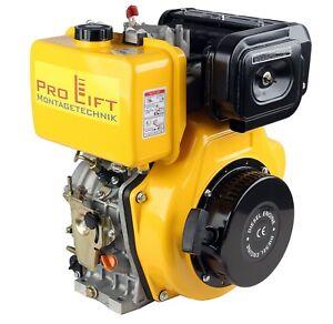 "4-Takt Dieselmotor 10PS Elektrostarter 1-Zylinder 1"" Antriebswelle 7,2kW 02550"