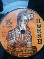 "Tito Simon-I'll Be True To You 7"" Vinyl Single 1972 UK COPY"