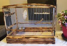 Amazing Wood Birds Cage. Handmade. Goldfinch / Mule /Canary / New