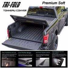 "1997-2003 Ford F150 Premium Soft Lock Tri-Fold Tonneau Cover 6.5ft 78"" Short Bed"