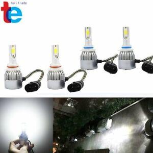 for Honda Civic 2004-2013 Odyssey 2005-2010 9005 + 9006 LED Headlights Bulb Kit