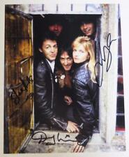 PAUL McCARTNEY & WINGS Signed Autograph 8x10 Photo by 3 Members Beatles Related