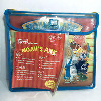 Noah's Ark Display & Play 3D Felt Playset Book With Accessories