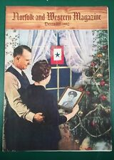 Vintage Norfolk and Western Magazine December 1942