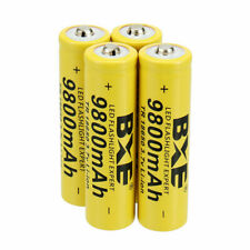 18650 3.7V Battery Li-ion Rechargeable & Charger For Flashlight yo