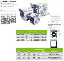 POZZETTO IN PVC - TOMBINO - CAVI ELETTRICI 55 x 55 - COMPRESO COPERCHIO