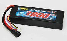 Carson RC LiPo-RP-11,1V 3800mAh 30C Box T-Plug Akku 3S Hardcase 500608146