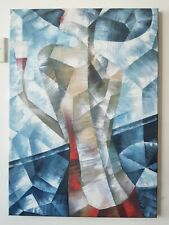"Abstract Art ""Lady With The Wine"" Oil Painting"
