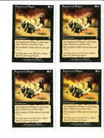 Engineered Plague x4 7th Seventh Edition 4x Playset Magic the Gathering