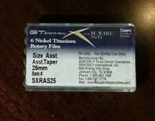 Dentsply GT Series X Nickel Titanium rotary files ASST size And taper 25mm MWire