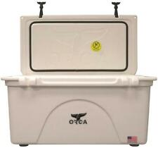 NEW ORCA ORCW075 WHITE COLORED 75 QUART INSULATED ICE CHEST COOLER USA 9902545