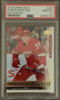 2018 2019 UD Christoffer Ehn PSA 10 YOUNG GUNS EXCLUSIVES RC ROOKIE #090/100