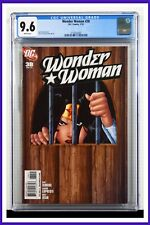 Wonder Woman #38 CGC Graded 9.6 DC January 2010 White Pages Comic Book.