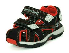 TIMBERLAND Toddler's Mad River Close Toe Sandal 54824 Black Leather Hiking Rare