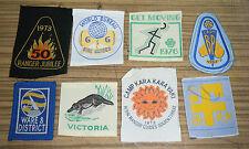Vintage Australian Girl Guides / Boy Scouts Patches / Badges    (f)