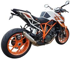 Pro-race KTM SuperDuke 1290R & GT 2014-2017 GP-r3 Stainless exhaust (Road Legal)