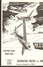 VARESE AERONAUTICA MACCHI AVIONS PLANES PUBLICITE 1955
