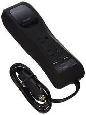 MobileSpec DC to AC Power Inverter 150 Watt ( 2 AC outlets 2 USB port)