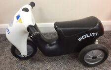 EX DEMO Kids polizia SCOOTER sedere su tre ruote scooter bici da Dantoy