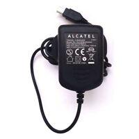 Genuine Alcatel EU / UK Travel Wall Home Mains Charger (5v 500mA) - Mini USB