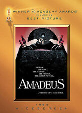 NEW!!! Amadeus (DVD, 2008, Widescreen) Slipcover included!!
