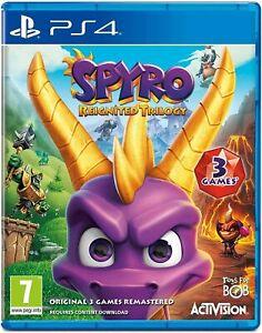 Spyro Reignited Trilogy (PlayStation 4, 2018)