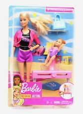 Imperfect Box! Barbie - Gymnastics Coach with Student and Balance Beam Set purse