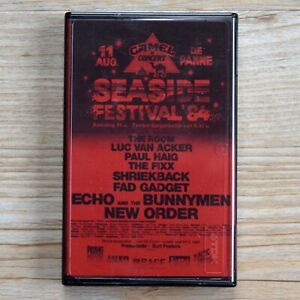 New Order De Panne Seaside Festival 11th August 1984 Live Cassette Tape
