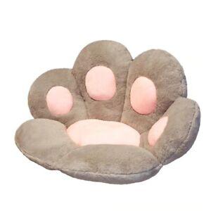 Cute Cat Paw Plush Chair Cushion Child Seat Pillow Mat Home Cushion Sofa Back
