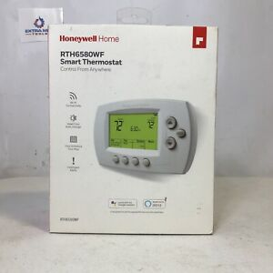 Honeywell Home RTH6580WF White Programmable Smart Thermostat (O)