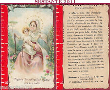 2501 SANTINO HOLY CARD REGINA SACRATISSIMI ROSARI ROSARIO MEDIOLANI NARDI