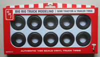 Big Rig Truck Modeling Tractor Trailer Tires AMT 1:25 CAR MODEL ACCESSORY PP023