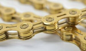 KMC X11EL Road Mountain Bicycle Bike Chains for Shimano/Campy/Sram 116L Gold