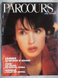 PARCOURS Air Inter 1993 - Isabelle ADJANI Catherine DENEUVE Amina Opéra de Lyon
