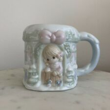 Precious Moments - 1994 Collectable Winter Cottage Snow Mug
