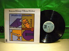 Ronnie Milsap / T-Bone Walker ‎– Plain & Simple ' LP MINT