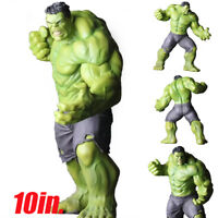 "10"" Large Avengers Infinity War The Hulk Action Statue Figure PVC Toys"