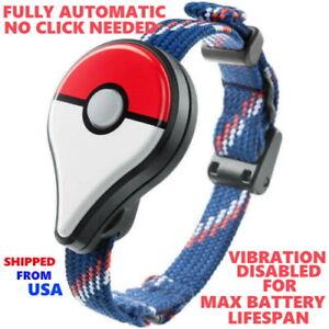 UPGRADED Nintendo Pokemon Go Plus *AutoCatch / Auto Swing*