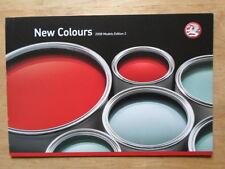 VAUXHALL CORSA ZAFIRA ASTRA VAN 2008 UK Mkt New Colours Leaflet Brochure