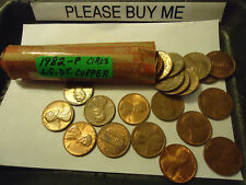 1982-P Lincoln Circs Cent Roll *Lg. Dt. Copper* >> C/S & H Available <<