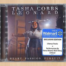 +3 BONUS TRACKS------> TASHA COBBS LEONARD Heart. Passion. Pursuit. EXCLUSIVE CD