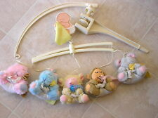 Vintage 1980's Infant Baby Nursery Crib Mobiles/Mobles Musical /Animals Excellen