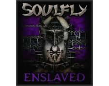 SOULFLY enslaved 2012 - WOVEN SEW ON PATCH official merchandise