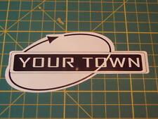 LAMBRETTA ELECTRONIC (VESPA) YOUR TOWN/CLUB MOD Sticker