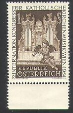 Austria 1954 Music Congress/Organ/Church/People/Instruments 1v (n34367)