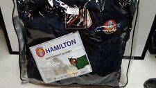 """Hamilton 600D Turnout Blanket Size 75"""" Navy Blue"""