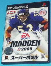Madden 2005 - Sony Playstation 2 PS2 Japan - JAP