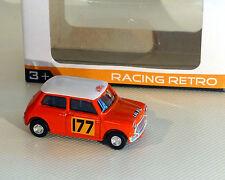Mini Cooper, Rallye, orange, NOREV, 1:64